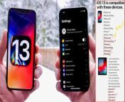 iOS 13- Features, iPhone Support, Dark Mode Demo, Release Date - More-. Watch Full: http://bit.ly/2YED5xr See More: http://bit.ly/2XDzKxN